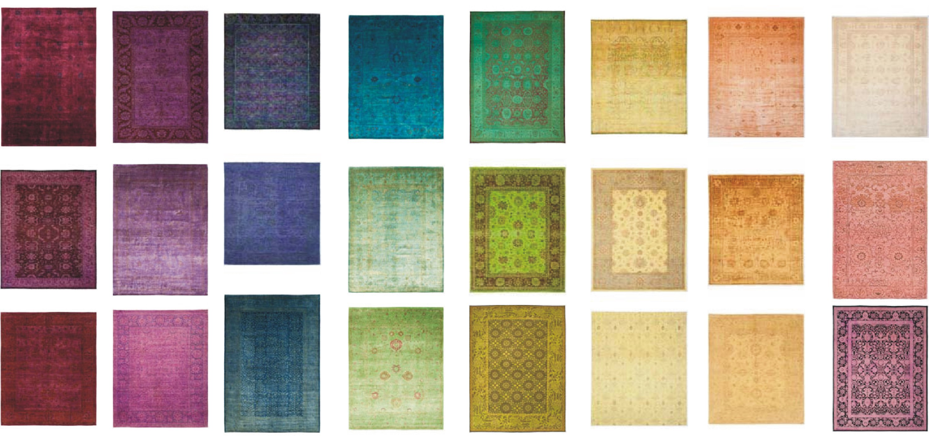 textiles: abc carpet and home- color reform Spectrum