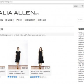 textiles: the forever dress, by Natalia Allen