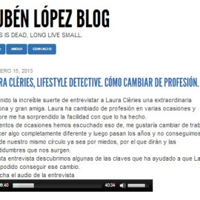 Interview to Laura Clèries for PowerSmall Project