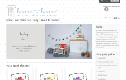 home-t-home little website